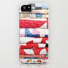 Vintage Quilts iPhone (5, 5s) Slim Case