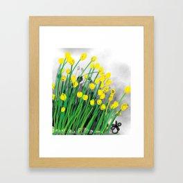 Yellow Flowers! Framed Art Print
