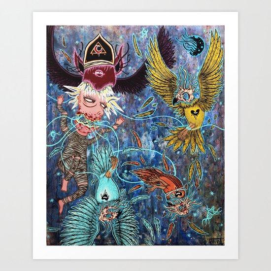 Spirit Migration Art Print