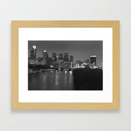 Silly Philly Framed Art Print