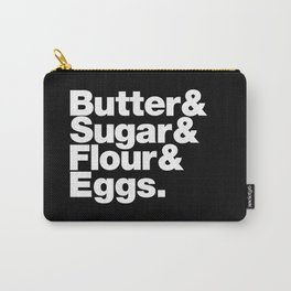The Fab 4 - Baking Carry-All Pouch