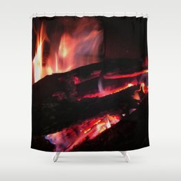 Bonfire2~takibi~ Shower Curtain