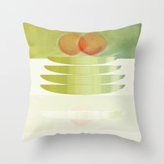 green 3 | digital sessions Throw Pillow