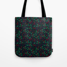 Red Winterberry Tote Bag