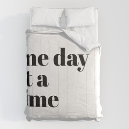 one day Comforters