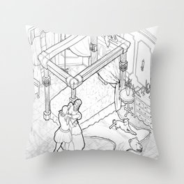Lilith's Room Throw Pillow