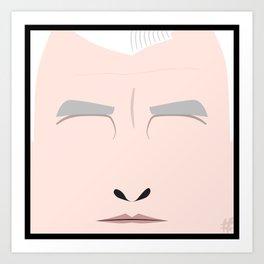 Roger Sterling – Square:icature™ Art Print
