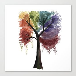Happy Tree Canvas Print