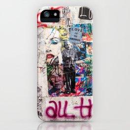 Tel Aviv Street Art / Love is the answer iPhone Case