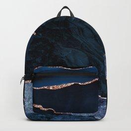 Beautiful Rose Gold Desert Design Pattern Backpack