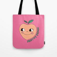 Pretty Peach Tote Bag