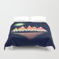 sale Duvet Covers featuring The Other Side by Zach Terrell
