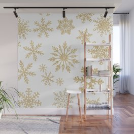 Snowflake Pattern 01 Wall Mural