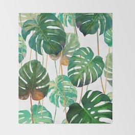 tropical savage Throw Blanket