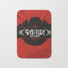 Bioshock Rapture Records Bath Mat