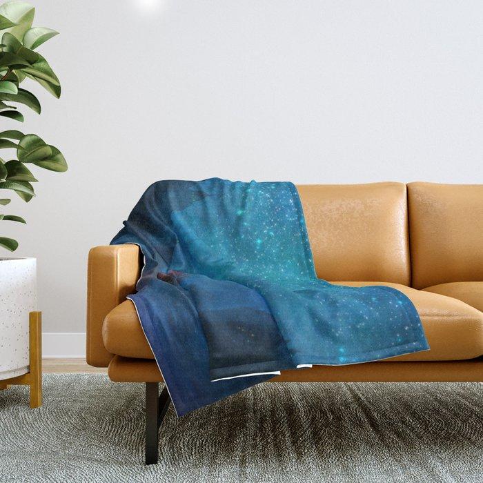 Our Secret Harbor Throw Blanket