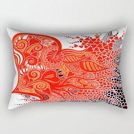 Open Hearted Rectangular Pillow