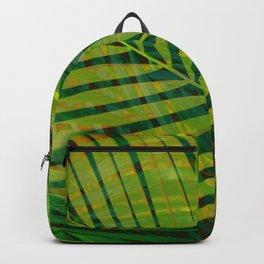 TROPICAL GREENERY LEAVES no1 Backpack