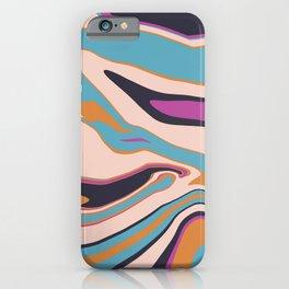 Marblized 7 iPhone Case