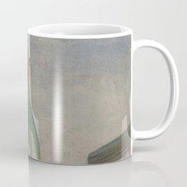 Allotment with Sunflower Coffee Mug