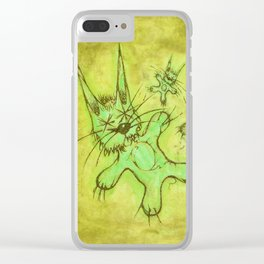 Record Cover for some Jazzed Rabbits, Yellowish. Clear iPhone Case