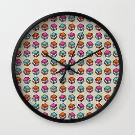 Liquorice Candy Sweet Pattern Wall Clock