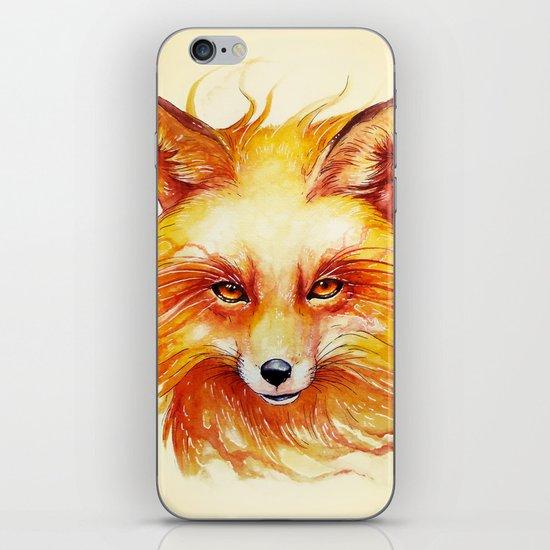 """Spirits of the Seasons - Autumn"" iPhone & iPod Skin"