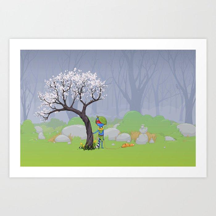 Scout Art Print