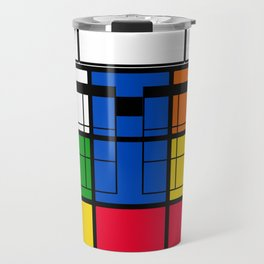 Nerd Rubik Travel Mug