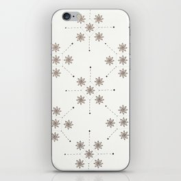 Floral Constellation (XL) iPhone Skin