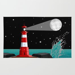 Fabulous Lighthouse Rug