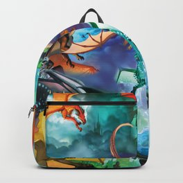 Wings Of Fire Character Backpack