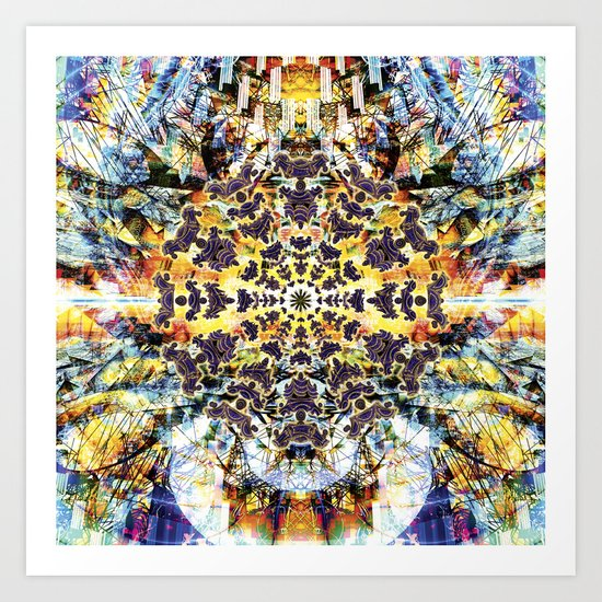 Neurotic Tectonics Art Print
