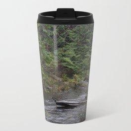 Rain forest Reflections Metal Travel Mug