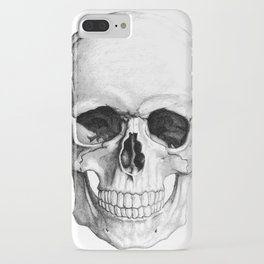 Human Skull Skeleton iPhone Case