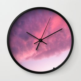 Color Bomb Sunset Wall Clock