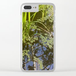 Rice plant in the climatron Clear iPhone Case