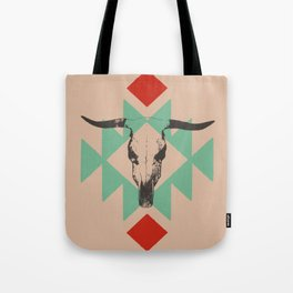 Southwest long horn Tote Bag