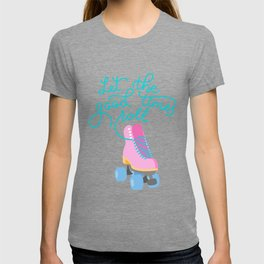 Let the Good Times Roll (Purple Background) T-shirt