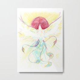 Phoenix Sun Metal Print