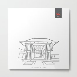 Ani Villas Sri Lanka Metal Print