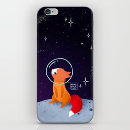 Where to next, little Fox? iPhone Skin