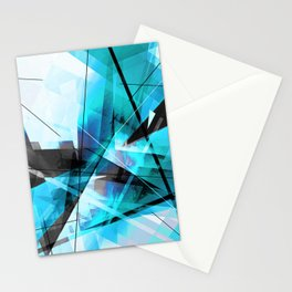 Shiver - Geometric Abstract Art Stationery Cards