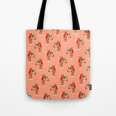 Miss Giraffe Tote Bag
