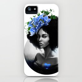Blossom Afro iPhone Case