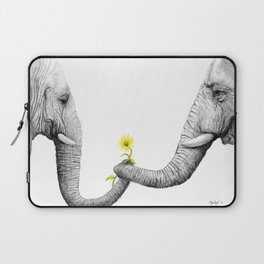 """Up Close You Are More Wrinkly Than I Remembered"" Laptop Sleeve"