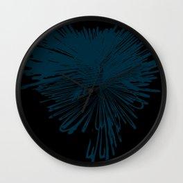 explosion de color Wall Clock