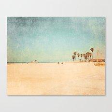 Beach Pop Love Canvas Print