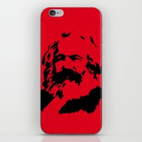 marx iPhone & iPod Skins featuring Marx by muffa