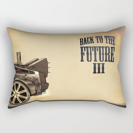 Back to the future III Rectangular Pillow